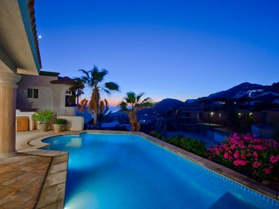 Photo for Villa Bougainvillea - Lovely Villa with Spectacular Views of the Ocean & Beach