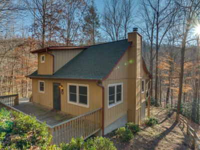 Photo for Bear Creek Cabin   Surrounded by Nature   25 Min. to TIEC   40 Min. to Asheville