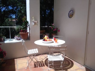 Photo for Traditional town house near historic Rennes le Chateau and river rafting