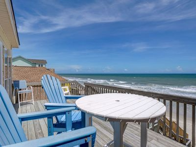 Photo for Oceanfront Home with views and PRIVATE beach access