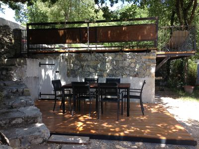 Photo for Villa 6 people with pool South Ardèche