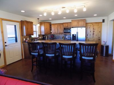 Open Kitchen and eating area