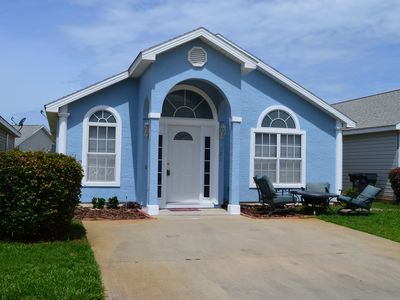 Photo for Single-Story PCB Home w/Pool Access 1 Mi. to Beach
