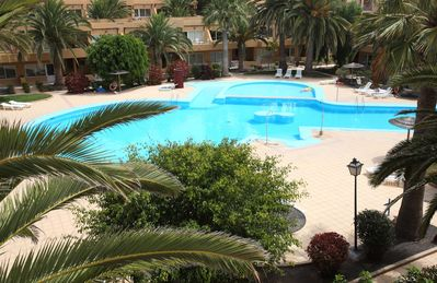 Photo for Corralejo Tropical 2 Dunes Apartment with Pool