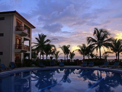Photo for Beach Front W/beautiful Ocean View Deluxe 2 Beds,2 Baths Condo In Jaco Beach