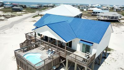 Photo for Gulf-view Beach House with Heated Pool Pet-friendly