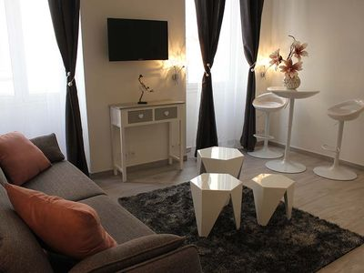 Photo for Studio 28m2 renovated Cannes Center 200m from Festival Palace and beaches