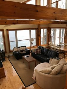 Photo for Lakefront Family Cottage with Incredible View on Crow Lake in South Frontenac
