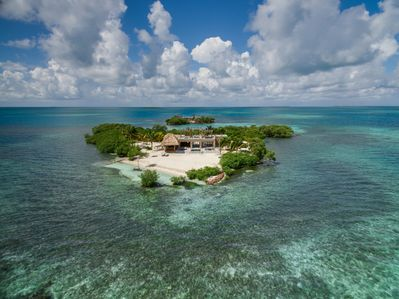 Front Aerial View Gladden Private Island