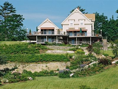 Photo for BRACKETT The Moorings Resort, ocean views, pool & close to Pemaquid beach!