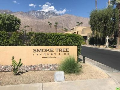 Photo for Renovated S. Palm Springs Ground Floor Condo Walk to SmokeTree Shops/Restaurants