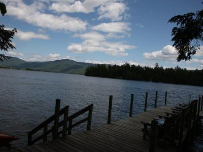 Photo for Beautiful Large Lakefront House on Lake George