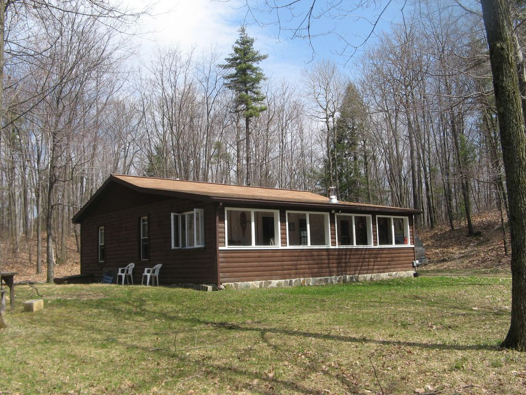 vacation cabin i rentals cabins new adirondack acre nestled ny york paul chalet owner by in private listing forest secluded rental mountain a smiths