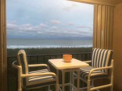 Photo for Oceanfront Condo With Balcony Overlooking Ocean