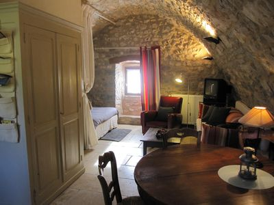 Photo for Charming cottage 3 * stone between Aveyron and Lozere