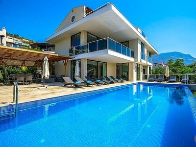 Photo for 7 bedroom Villa, sleeps 16 with Pool, Air Con and FREE WiFi