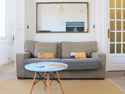 Photo for 100 meters from the Grande Plage, large two rooms