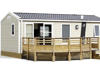 Photo for Camping Le Clos de Balleroy *** - Mobile home Rapidhome Lodge 3 Rooms 4/6 People