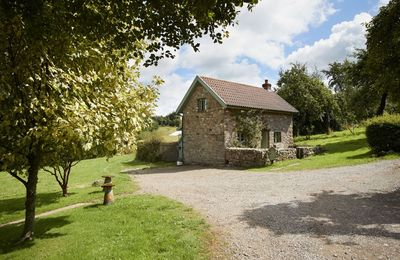 Photo for Orchard holiday cottage is a beautiful dwelling, ideal for couples, in a peaceful Wye Valley hamlet.