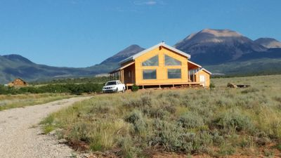 Photo for New Cabin near Old La Sal - 40 miles from Moab, UT