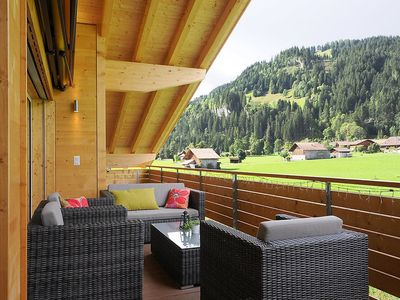 Photo for Apartment in the center of Lenk im Simmental with Internet, Lift, Parking, Balcony (317294)