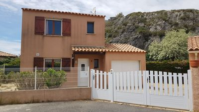 Photo for NARBONNE-PLAGE : 3 bedroom-detached villa with large terrace