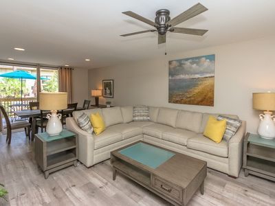 Completely Remodeled and steps to beach and pool!!