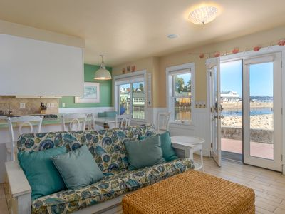 Photo for Capitola Venetian Beach Front Cottage!