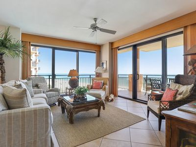 Photo for 501C - 3BR with Colorful decor and a wonderful Gulf Front View