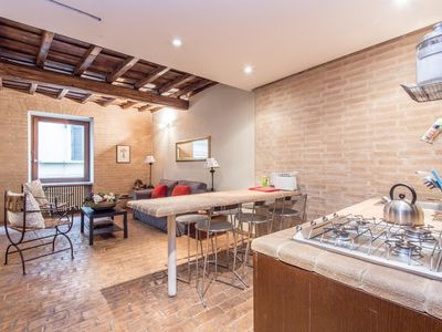 Photo for Elegant Apartment Campo dei Fiori