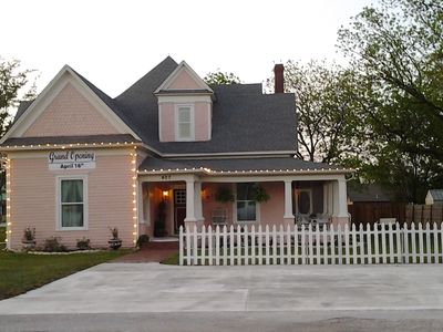 Photo for Romantic B And B  For 2 Or Retreat Style For 10, In Charming Sanger, Texas