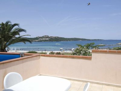 Photo for CR 226b_Apartment surrounded by greenery, with sea view and swimming pool use.