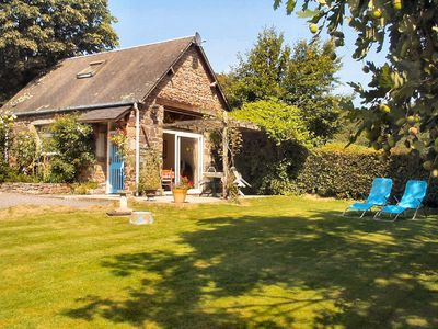 Photo for La Cachette stone detached gite  in peaceful Normandy with own private garden