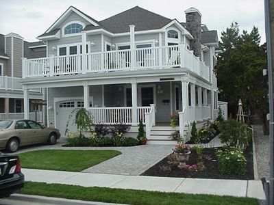 Photo for Lovely new 5 bedroom, 4 bath home with views of the ocean from the master suite and front deck