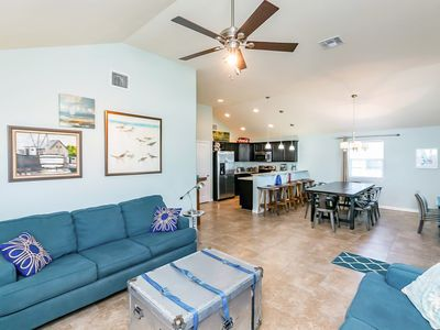 Photo for Sea Breeze 3BR w/ Deck & Patio -- Minutes to the Beach, Shops & Restaurants