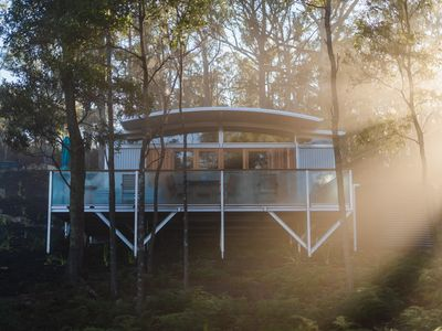 Photo for Blue Wren  Luxury Eco-Pod - absolute waterfront in stunning bushland setting.