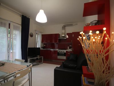 Photo for Apartment/ flat  with garden- Riccione