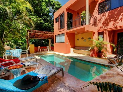Photo for Ideal 3 bedroom beach home   located at the exclusive Playacar Phase 1