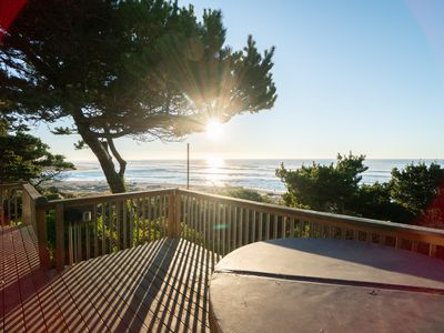 Photo for Enjoy a Hot Tub, Pets & Views from 'Ebbing', a 3 bedroom home in Lincoln City