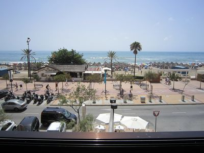 Photo for Apartment in Fuengirola facing the sea. The Boliches