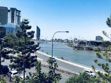 Kangaroo Point Cliffs, Brisbane, Queensland, Australia