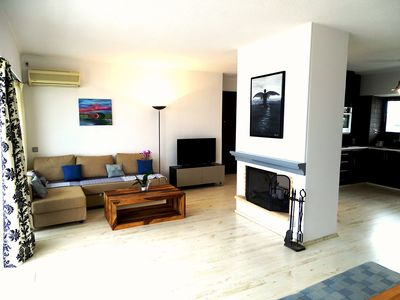 Photo for Fabulous penthouse in Alimos Athens. Stunning sea views  8' walk from the beach.