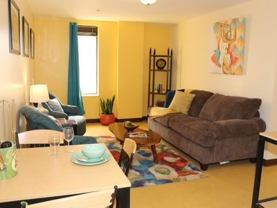 Photo for 2 Bedroom Downtown Apt   City Views   Park & Walk!