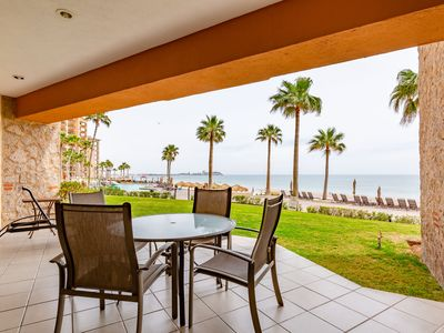 Photo for Sonoran Sea West 102 - 2 Bedroom Ground Floor Ocean Front