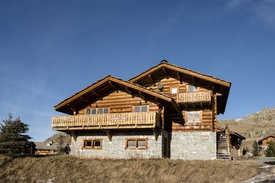 Chalet Louisa de face