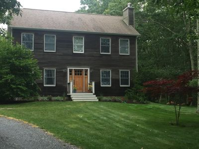 Photo for Quiet Hamptons- Water Mill Retreat - Close to town & beach