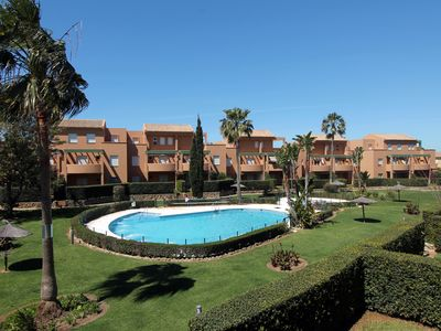 Photo for First floor apartment, Garden of Golf 1, 2 bedrooms