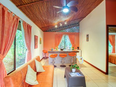 Photo for Exotic suite w/ mountain & forest views, shared swimming pool!