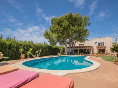 Photo for SanVicente - Great house with large garden and saltwater pool