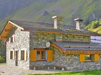 Photo for Large chalet with authentic charm and old stone walls
